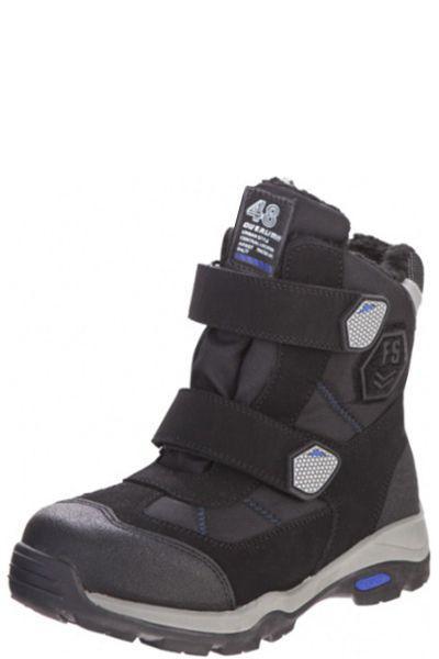 Купить Ботинки, Kapika, Черный, Искуственный материал-100%, Мужской