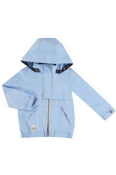 Купить Куртка, Mayoral, Голубой, Полиэстер-100%, Мужской