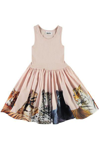 Купить Платье, Molo, Розовый, Хлопок-100%, Женский