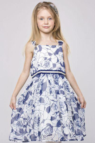 Платье для девочки BJ7292 разноцветный Byblos, Китай (КНР)