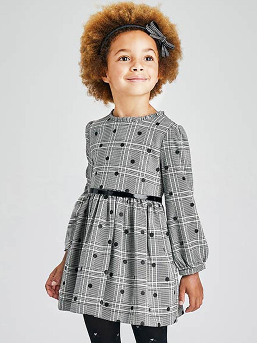 ремень mayoral для девочки, серый