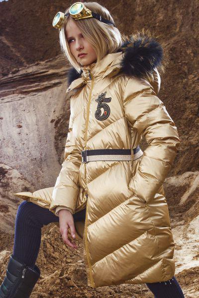 Купить Пальто, Noble People, Желтый, Полиэстер-100%, Женский