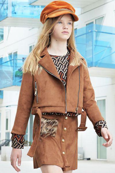 Купить Куртка, Custo Barcelona, Коричневый, Полиэстер-100%, Женский