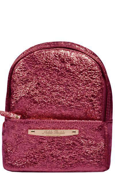Рюкзак Noble People красного цвета