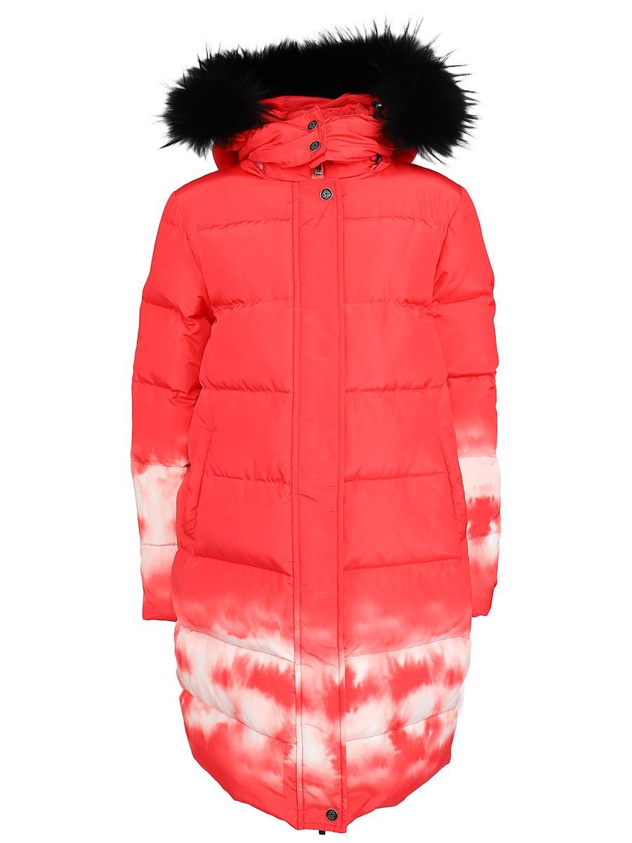 пальто noble people для девочки, розовое