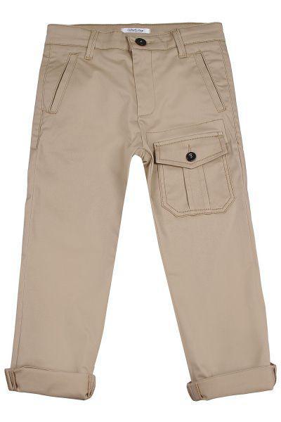 брюки street gang для девочки, бежевые