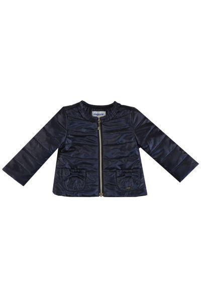 Купить Куртка, Mayoral, Синий, Полиэстер-57%, Полиамид-43%, Женский