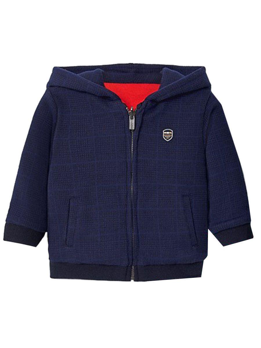 куртка mayoral для мальчика, оранжевая