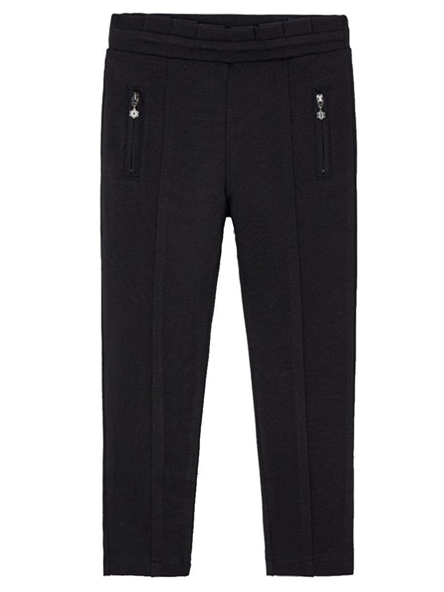брюки mayoral для девочки, черные
