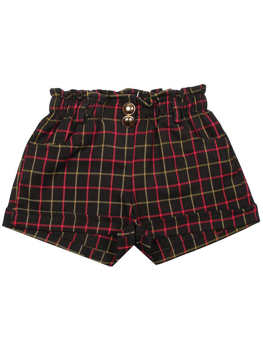 шорты y-clu' для девочки, черные