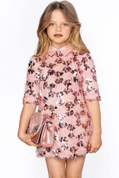 Купить Платье, Noble People, Розовый, Полиэстер-100%, Женский