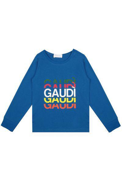 лонгслив gaudi для мальчика, синий