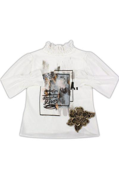 Купить Блуза, Byblos, Белый, Полиэстер-100%, Женский