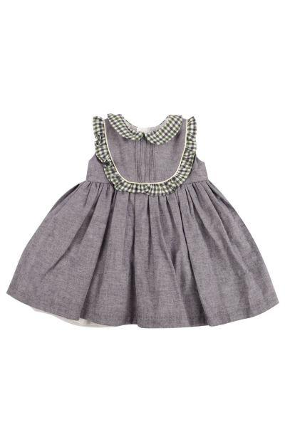 Купить Платье, Y-clu', Серый, Хлопок-95%, Эластан-5%, Женский