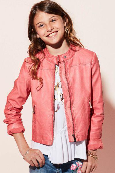 Купить Куртка, Gaudi, Розовый, Вискоза-100%, Женский