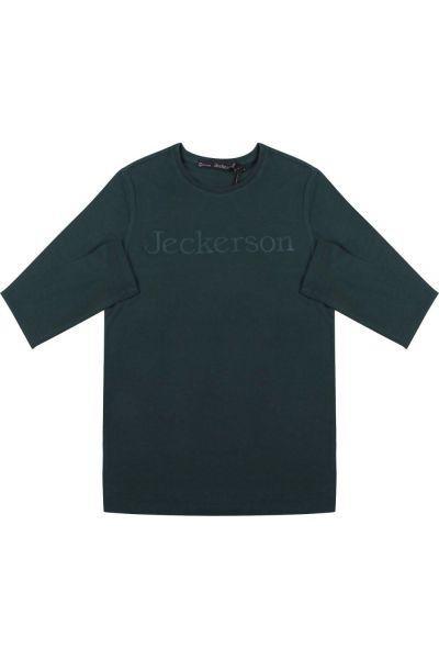 лонгслив jeckerson для мальчика, зеленый