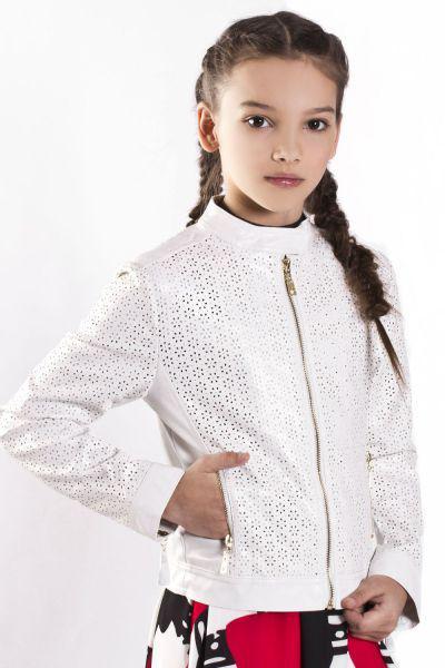 Куртка, Artigli, Белый, Полиуретан-100%, Женский  - купить со скидкой