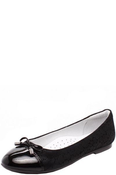 Купить Туфли, Kapika, Черный, Натуральная кожа/Искусственная кожа-100%, Женский