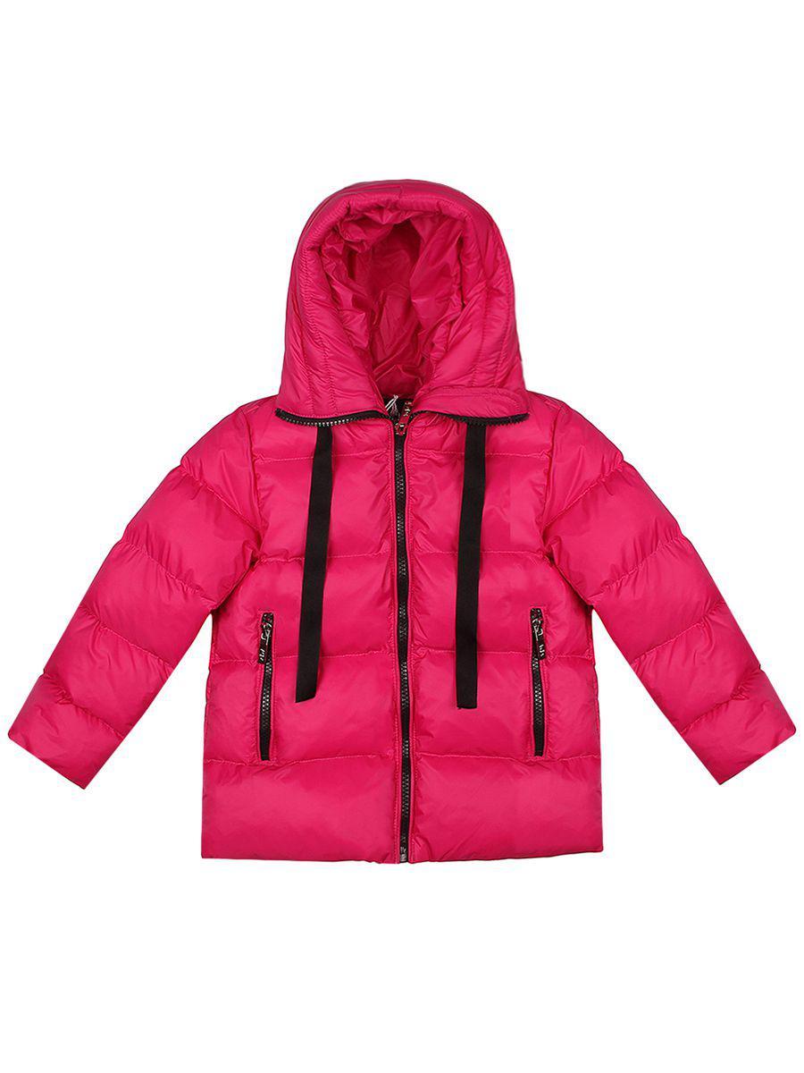 куртка y-clu' для девочки, розовая