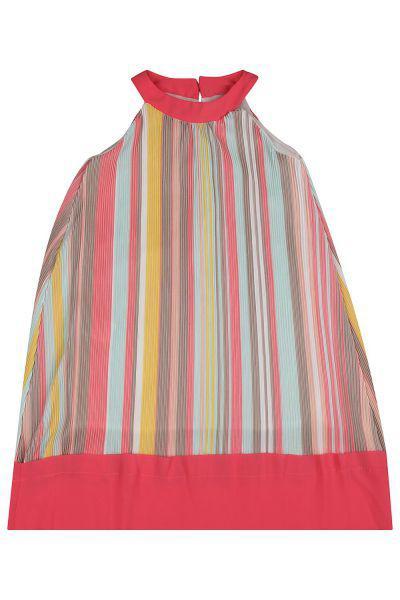 Купить Платье, Y-clu', Разноцветный, Хлопок-95%, Эластан-5%, Женский