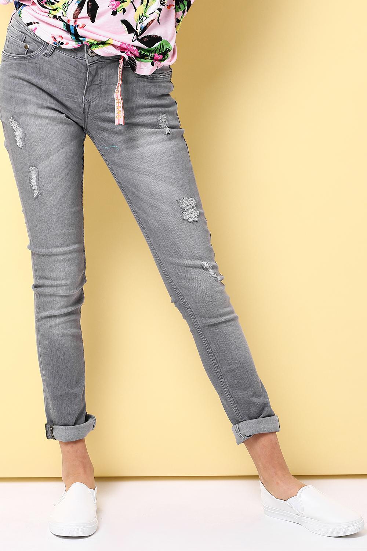 джинсы vingino для девочки, серые