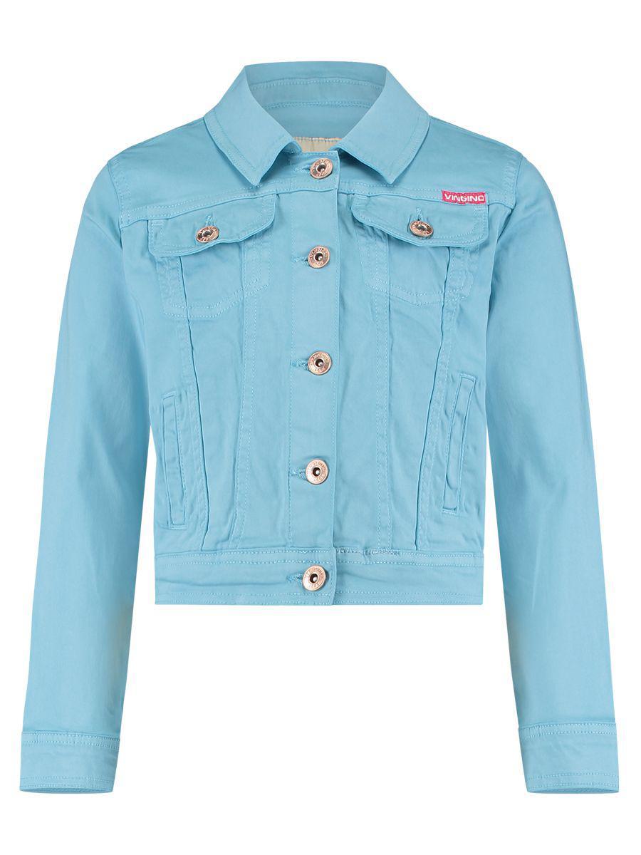 Купить Куртка, Vingino, Голубой, Хлопок-98%, Эластан-2%, Женский