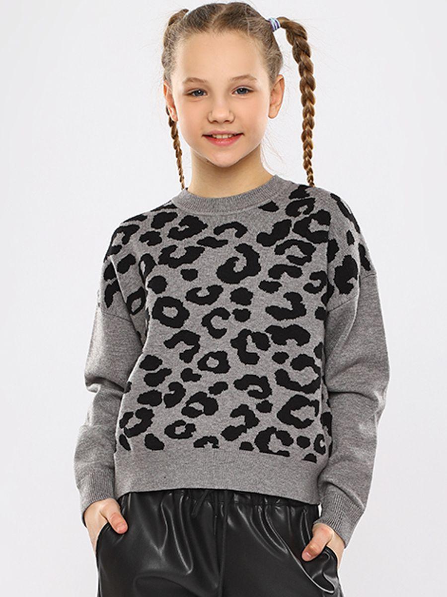 джемпер y-clu' для девочки, серый