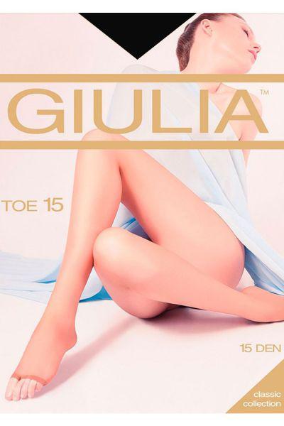 Колготки Giulia для девочки TOE15 чёрный, Китай (КНР)