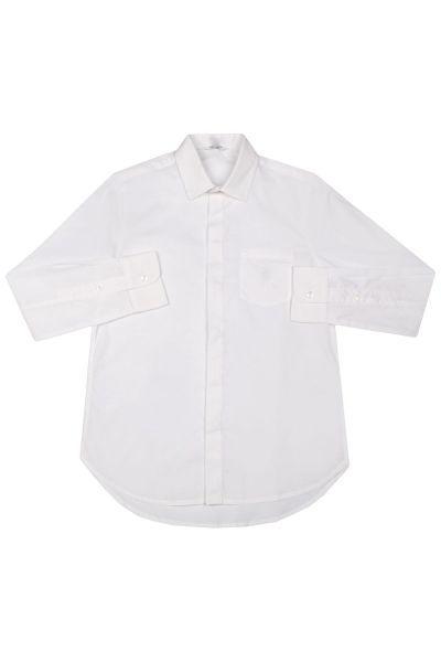 Купить Рубашка, Street Gang, Белый, Хлопок-97%, Эластан-3%, Мужской