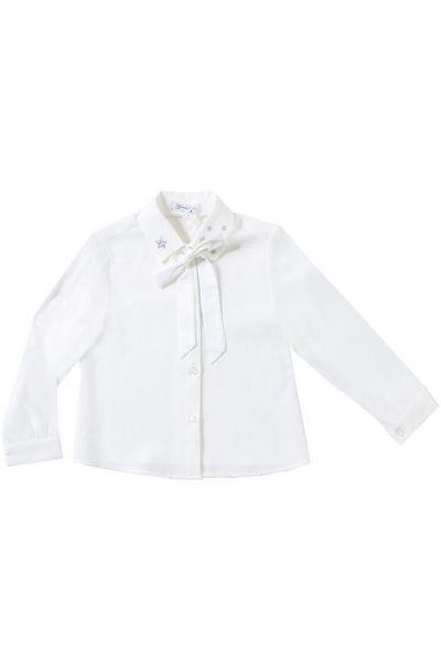 Купить Блуза, Gaialuna, Белый, Хлопок-100%, Женский