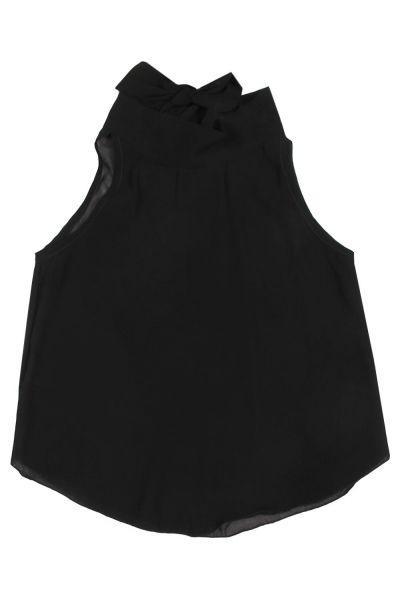 блузка y-clu' для девочки, черная