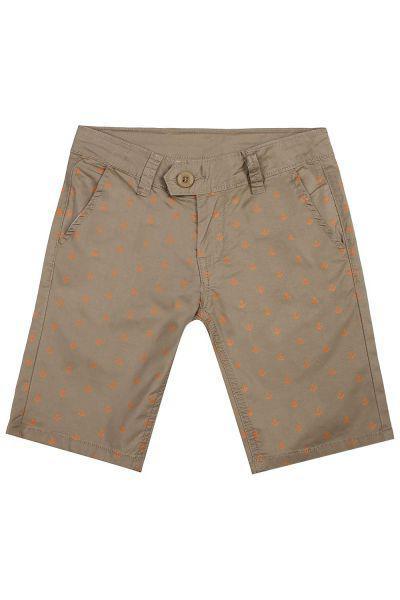 бермуды y-clu' для мальчика, коричневые