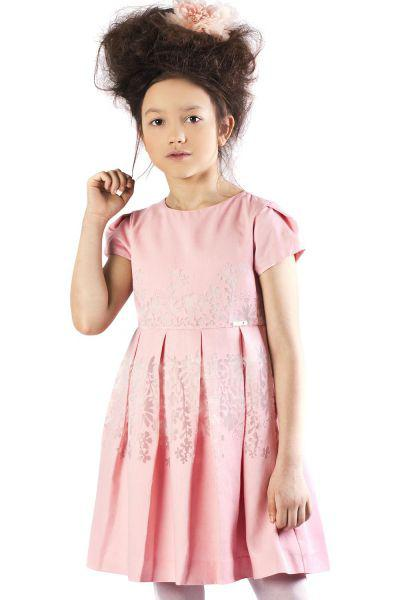 платье mayoral для девочки, розовое