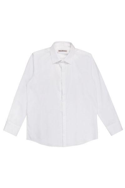 Рубашка, Noble People, Белый, Хлопок-100%, Мужской  - купить со скидкой