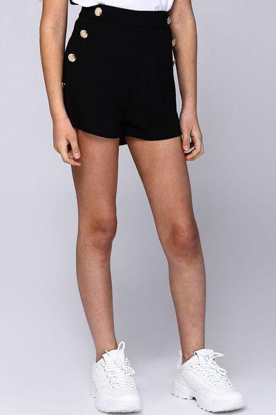 шорты gaialuna для девочки, черные
