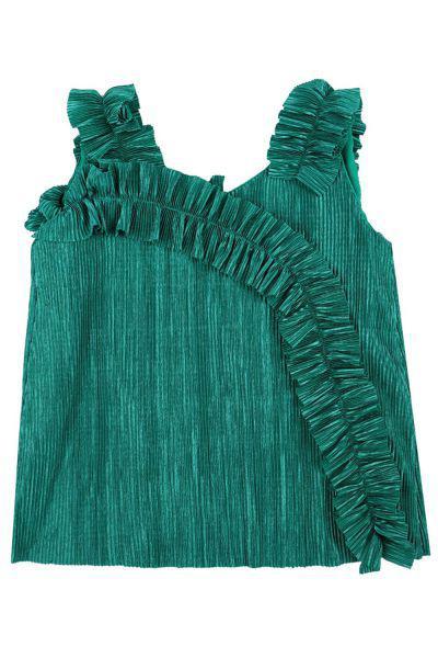 топ meilisa bai для девочки, зеленый