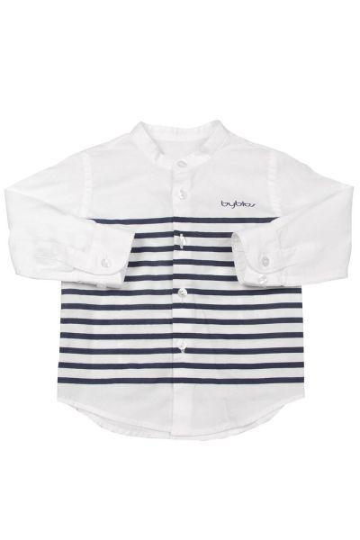 Купить Рубашка, Byblos, Белый, Хлопок-100%, Мужской