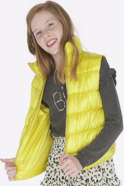 жилет mayoral для девочки, желтый
