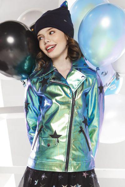 Купить Куртка, Noble People, Зеленый, Полиуретан-100%, Женский