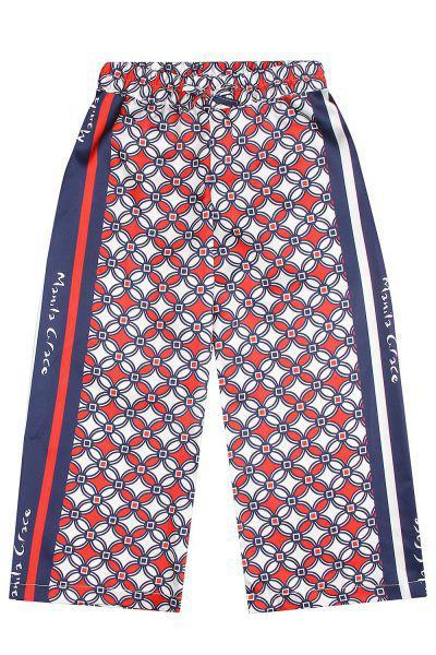 брюки manila grace для девочки, разноцветные