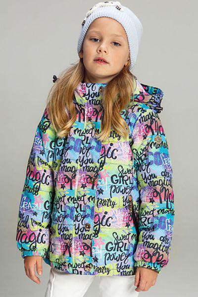 Купить Куртка, Les Trois Vallees, Разноцветный, Полиэстер-100%, Женский