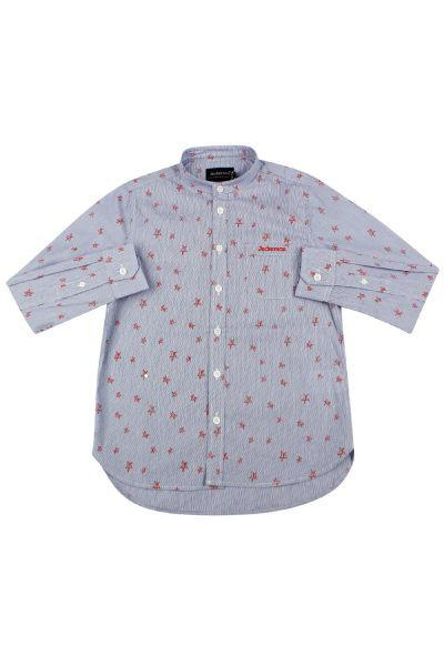 Купить Рубашка, Jeckerson, Голубой, Хлопок-100%, Мужской