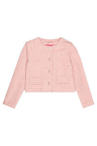 жакет gaudi для девочки, розовый