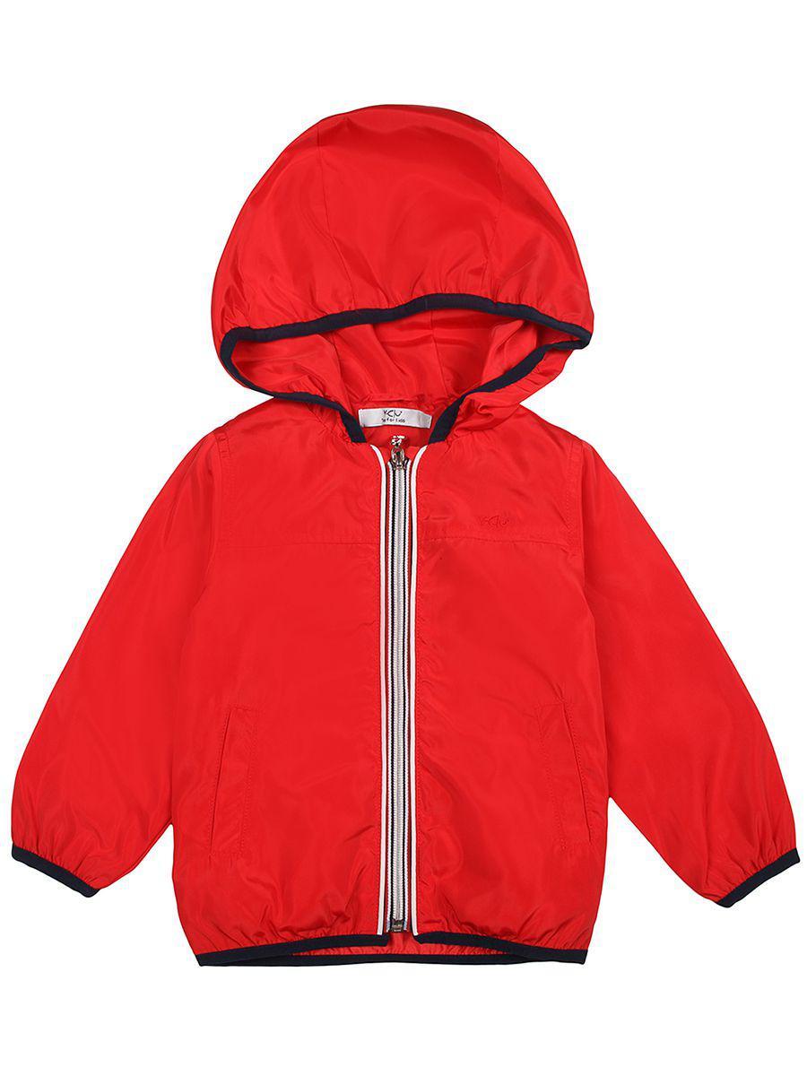 куртка y-clu' для мальчика, красная