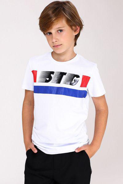 Купить Футболка, Street Gang, Белый, Хлопок-100%, Мужской