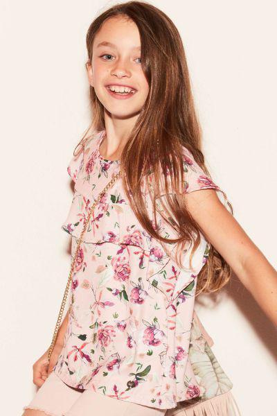 Купить Блуза, Gaudi, Розовый, Полиэстер-100%, Женский