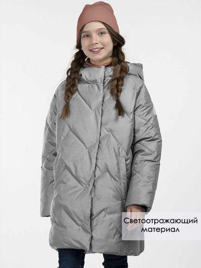 куртка смена для девочки, серая