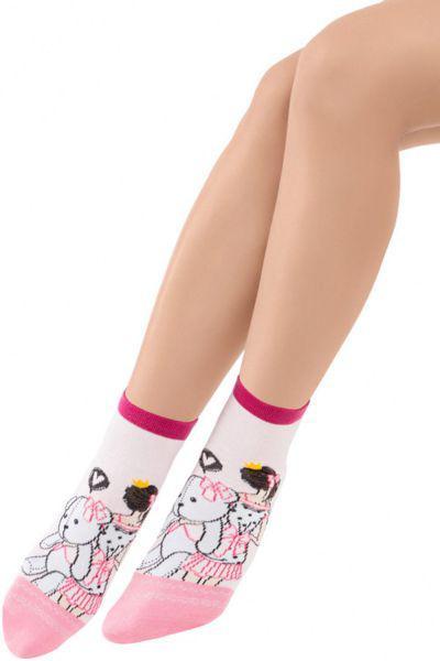 Носки для девочки SAK-14207 розовый Charmante, Китай (КНР)