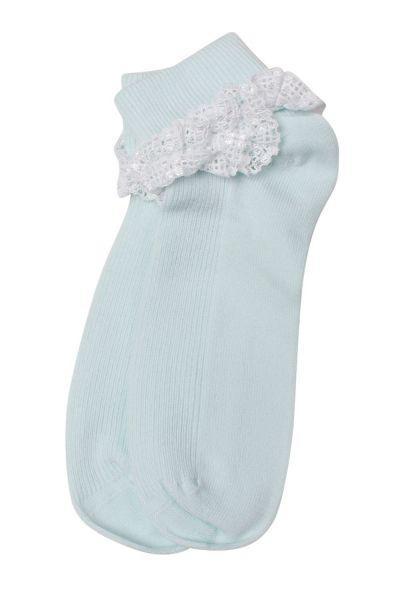 Носки для девочки SAA-1043C голубой Charmante, Китай (КНР)