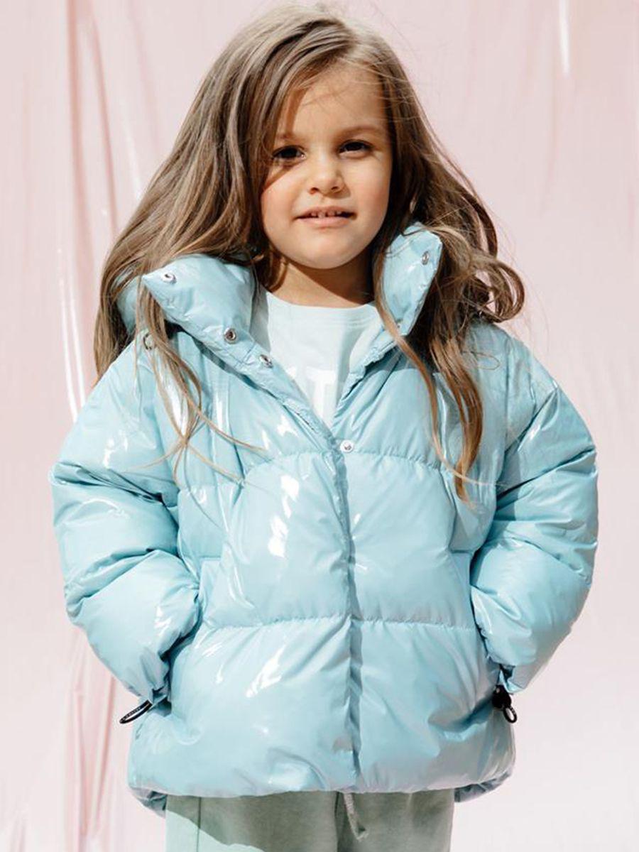 Купить Куртка, GnK, Голубой, Полиэстер-100%, Женский
